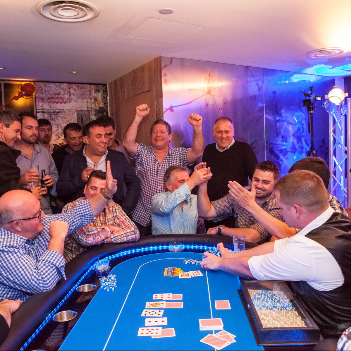 Poker Tournament Grand Final Table