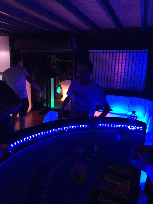 LED Blackjack Illuminated Fun