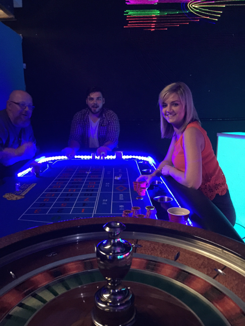 LED Roulette Illuminated Fun