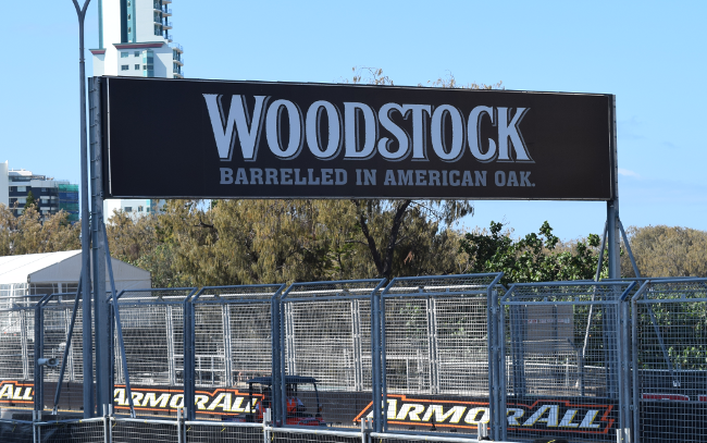 Woodstock Branding on the Gold Coast 600 track 2015