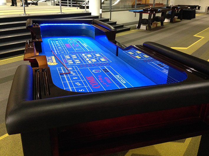 4.3 metre Craps Table