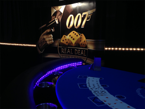 Blackjack Table at a Casino Royale Event